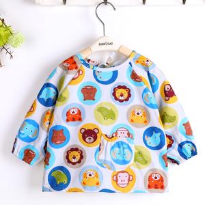 儿童围裙画画衣韩国图片