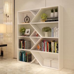简易创意大书柜书架简约现代隔断客厅储物柜办公文件柜家用小书柜