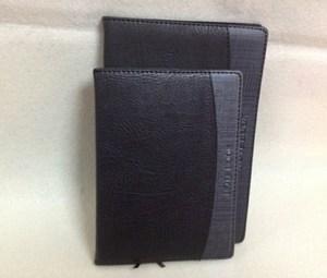 博文商务笔记本黑灰双色本子日记本记事本会议记录文具A5/36K特价