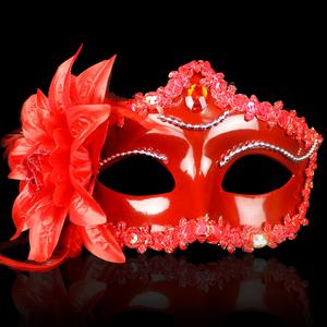 万圣节舞会面具女半脸 性感面具情趣化妆舞派对公主面具儿童成人