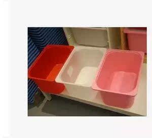 宜家国内代购舒法特储物箱盒子杂物盒玩具收纳盒42x30x23
