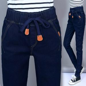 女土长裤子新款
