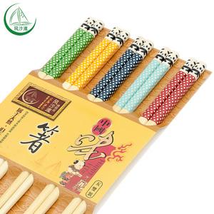 日式竹筷子防滑防霉家用竹子创意个性可爱天然高档耐高温一人一筷