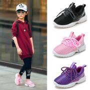 Girl's Shoes autumn section 2017 new trend children's casual shoes Korean girl shoes hundred 10 years old girl sports