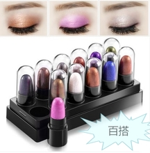 12 color eye shadow pen set box waterproof not dizzydo beginners earth natural color full Makeup Palette powder