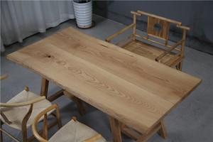 大板?#30340;?#21407;木餐桌办公桌商业大板桌奥坎?#26700;?#26408;大板170-87-83-80-5