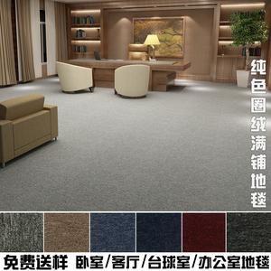 办公室地毯商用满铺写字楼台球舞蹈房宾馆会议室展会工程客厅家用
