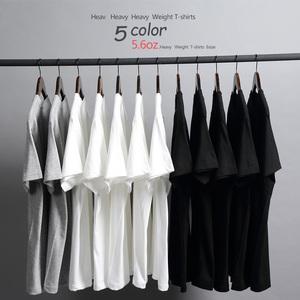 夏季日本品质厚实纯棉纯色短袖打底衫T恤粉色男女白休闲体恤衫潮