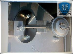 瀝青站骨石料滾筒測溫,顆粒粉塵狀烘干的溫控器系統提高控溫精度