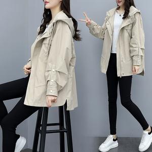 2021流行春季女韩版春装新款小个子风衣女学生初秋宽松外套女装潮