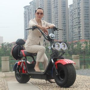 新款哈雷电动车大宽胎成人滑板车哈雷思博锐电瓶车踏板摩托车跑车