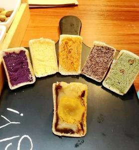 网红美食 仙豆糕 6口味全家福 西木栗子 虎皮饽饽 国内代购