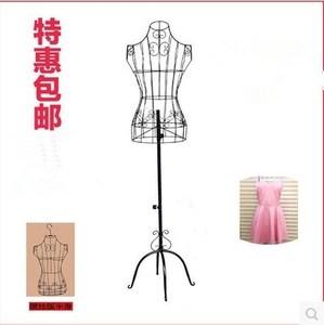 铁艺模特架落地女店衣架展示架架子模特衣架铁架