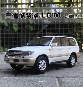 原厂 一汽丰田 1:18 兰德酷路泽 LC100 陆地巡洋舰 越野 汽车模型
