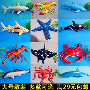 鲨鱼玩具仿真