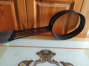 高端定制台湾全碳素羽毛球拍vtzf2高磅专业高刚性碳纤维小黑拍