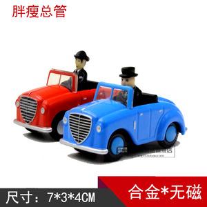 滿50包郵正版合金托馬斯小火車 藍色 胖總管 紅色 瘦總管模型玩具