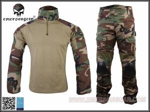 爱默生EMERSON GEN2/G2二代护肘护膝野战战术作训服蛙服 四色丛林