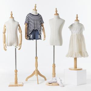 半身儿童模特 童装店服装模特道具 橱窗柜台小孩假人模特衣架包邮