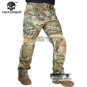 正品爱默生Emerson G2带护具战术作训裤 CP/MC/全地形迷彩工装裤