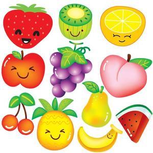 蔬菜卡通墙贴