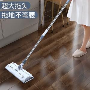 静电拖把静电除尘纸一次性懒人家用擦地拖地板湿巾免?#27425;?#23576;纸吸尘