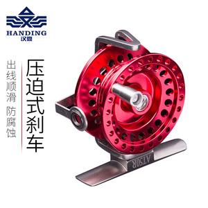 汉鼎前打轮金属鱼线轮钓鱼筏钓轮海钓轮渔轮泄力特价渔具垂钓用品