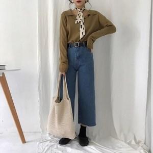 编织女士毛线包