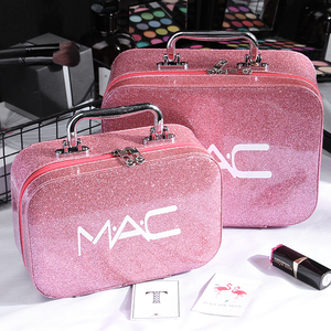 化妝包小號便攜韓國簡約可愛網紅少女心大容量收納盒品化妝箱手提