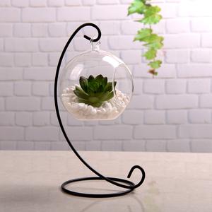 创意家居桌面摆件 多肉玻璃容器 透明玻璃悬挂花瓶装饰品包邮