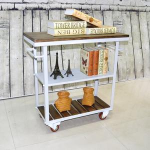 欧式酒水车酒架移动餐车橱柜餐边柜厨房推式滚轮置物架包邮