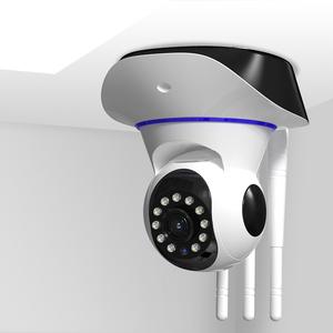 智能无线摄像头手机wifi网络远程室外家用室内高清夜视监控器套装