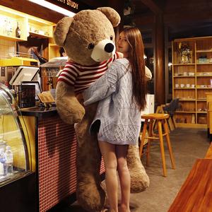 泰迪熊猫公仔女生日礼物特大号超大抱抱熊毛绒玩具玩偶布娃娃大熊