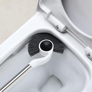马桶刷套装家用洗厕所刷子无死角卫生间洁厕坐便蹲坑清洁刷挂墙式