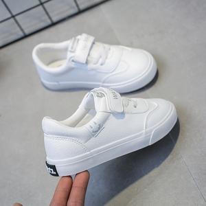 回力童鞋2019春新款男童鞋儿童小白鞋女童鞋子白色板鞋女小学生鞋