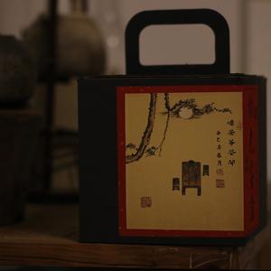 四季沫拾光寶盒2013老白茶貢眉100g X6餅 老茶蟲專享存茶鏈接