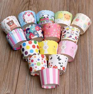 粉色纸托创意大号食品北欧婚礼烤箱耐高温?#20449;?#33457;盆烘培蛋糕纸杯