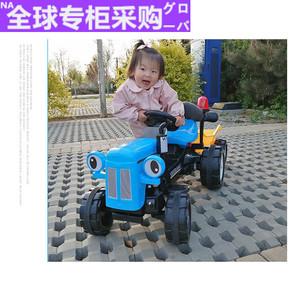 日本手扶儿童电动拖拉机2-3-6岁男宝大童大号可坐可骑小孩??赝?/>                             </a>                             <div class=
