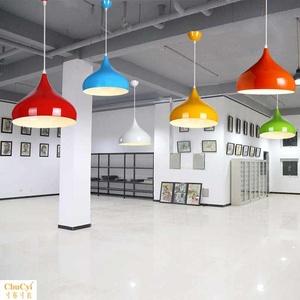 个性画室舞蹈室灯罩吊灯奶茶理发店幼儿园教室专用外壳罩子装饰灯