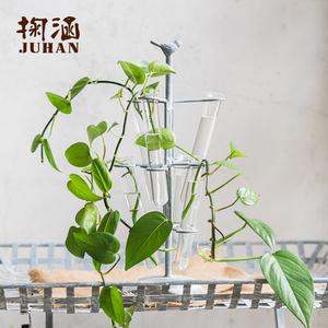00 3人付款  淘宝 o2 手工陶艺陶瓷花瓶饰品摆件餐桌水培植物花器