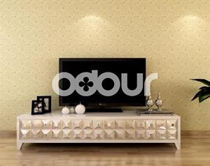 氧宜多硅藻泥电视背景墙图案内墙卧室涂料客厅墙面漆印花环保墙纸