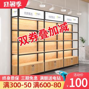 超市貨架陳列架多層可調節產品置物架便利店展示柜手機配件展示架