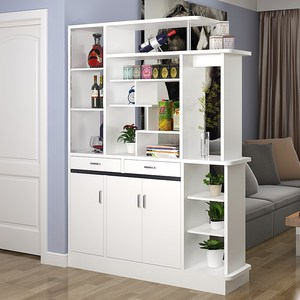 包邮1米4宽客厅双面鞋柜门口1.4米红酒柜1.2两面用门厅隔断屏风柜