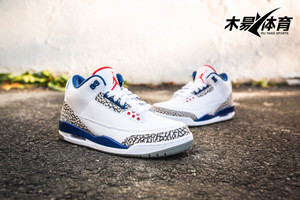 AIR JORDAN 3 OG True Blue AJ3白蓝 真蓝 元年钩子 854262-106