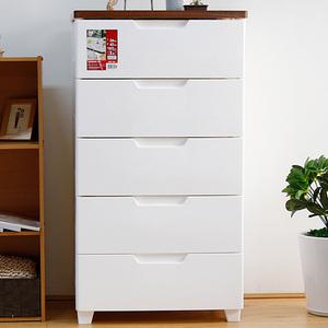愛麗思抽屜式密閉收納柜子愛麗絲兒童衣服塑料儲物整理箱五斗櫥柜