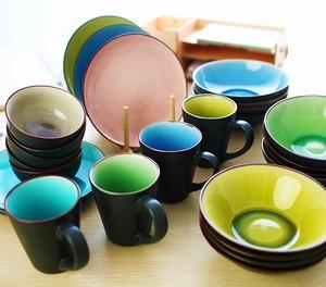 出口日式陶瓷餐具套装冰裂陶瓷碗zakka创意泡面碗一件代发