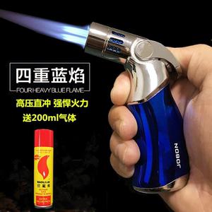 中邦焊槍打火機家用小型充氣金屬防風直沖四噴頭超強火力融焊絲
