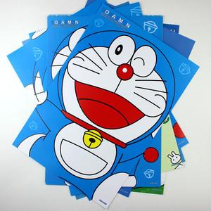 哆啦a梦大熊蓝胖子叮当猫机器猫大海报 日本卡通动漫周边壁纸墙贴图片