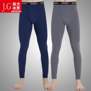 2件装男士秋裤薄款中老年青少年学生内穿保暖内裤衬裤线裤宽松冬