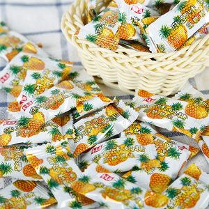 。菠蘿糖小時候 懷舊 80后菠蘿味奶糖散裝 混合水果奶糖橘子芒果